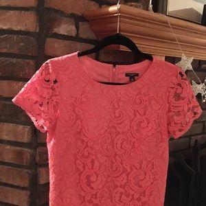 Ann Taylor coral dress